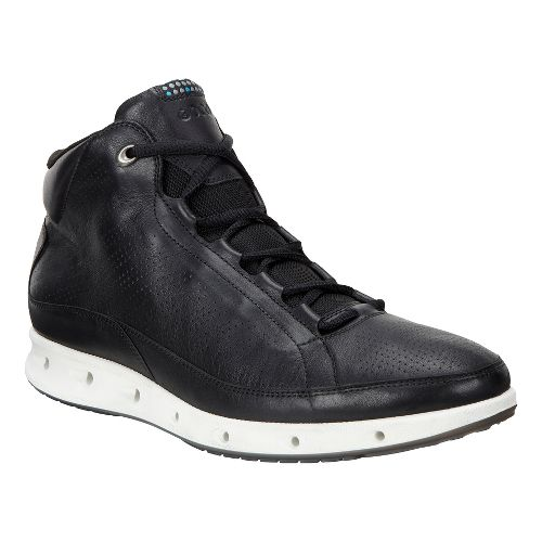 Mens Ecco Cool GTX High Casual Shoe - Black 42