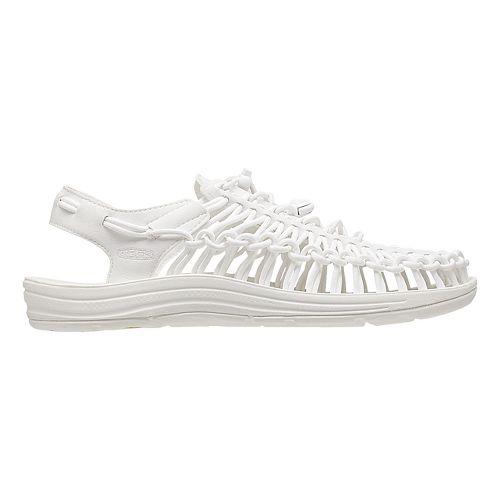 Womens KEEN Uneek Casual Shoe - White 8.5