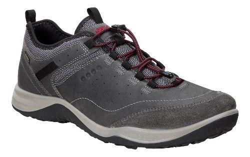 Mens Ecco Espinho GTX Casual Shoe - Titanium/Dark Shadow 42