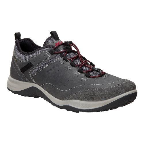 Mens Ecco Espinho GTX Casual Shoe - Titanium/Dark Shadow 41