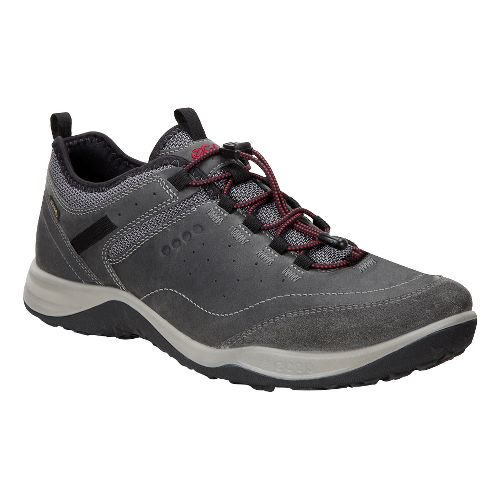 Mens Ecco Espinho GTX Casual Shoe - Titanium/Dark Shadow 42