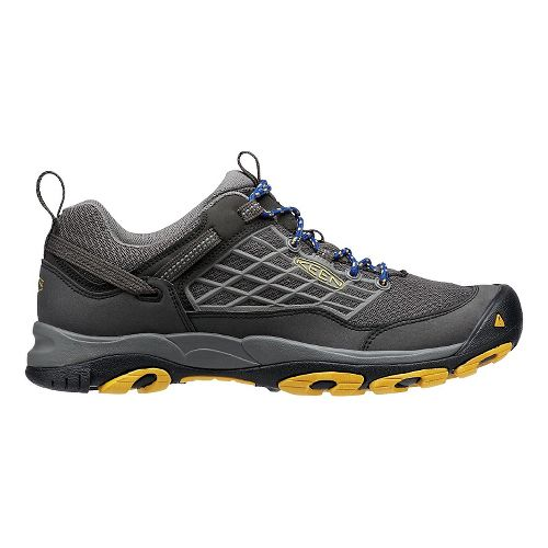 Mens KEEN Saltzman Hiking Shoe - Raven/Yellow 12
