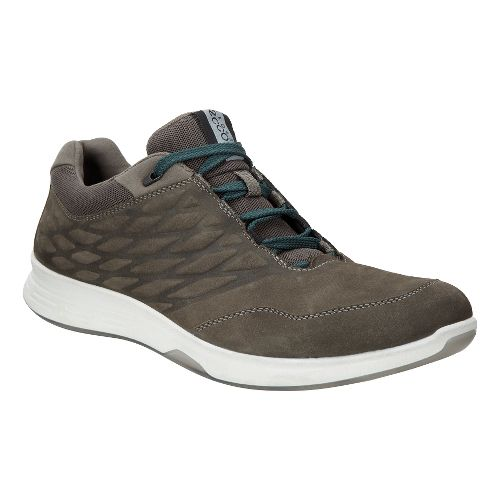 Mens Ecco Exceed Low Walking Shoe - Tarmac 45
