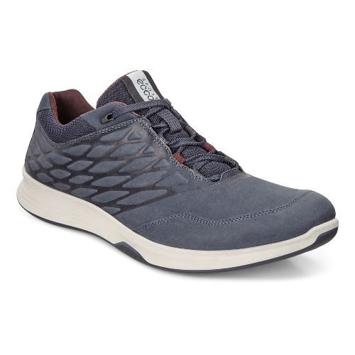 Mens Ecco Exceed Low Walking Shoe - Marine 45