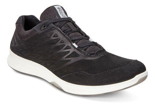 Mens Ecco Exceed Low Walking Shoe - Black 42