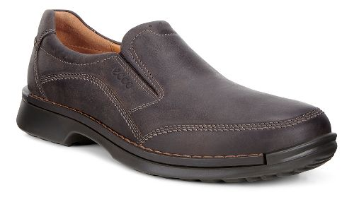 Mens Ecco Fusion Slip-On II Casual Shoe - Coffee 42