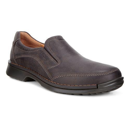 Mens Ecco Fusion Slip-On II Casual Shoe - Coffee 41
