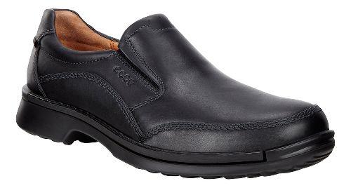 Mens Ecco Fusion Slip-On II Casual Shoe - Black 42