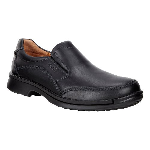 Mens Ecco Fusion Slip-On II Casual Shoe - Black 44