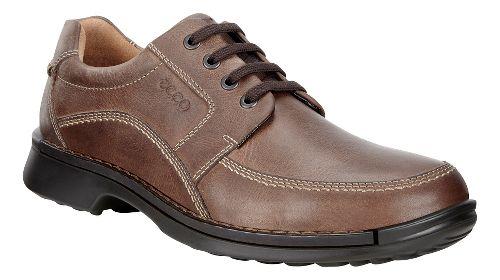 Mens Ecco Fusion Tie II Casual Shoe - Cocoa Brown 47