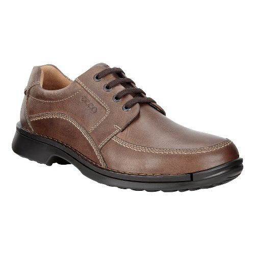 Mens Ecco Fusion Tie II Casual Shoe - Cocoa Brown 42