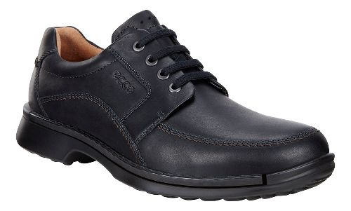 Mens Ecco Fusion Tie II Casual Shoe - Black 40