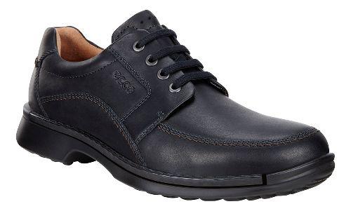Mens Ecco Fusion Tie II Casual Shoe - Black 43
