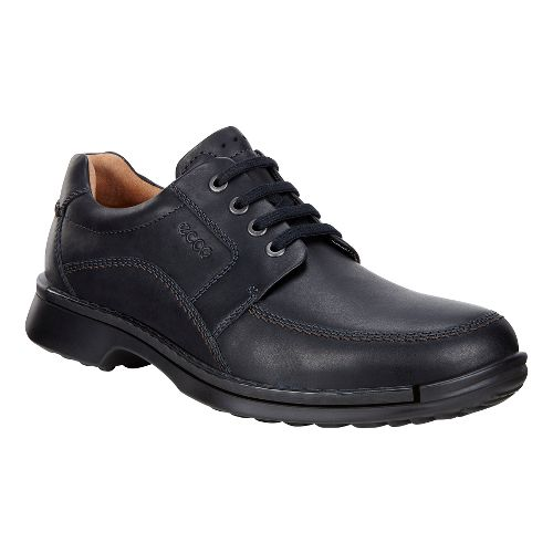 Mens Ecco Fusion Tie II Casual Shoe - Black 42
