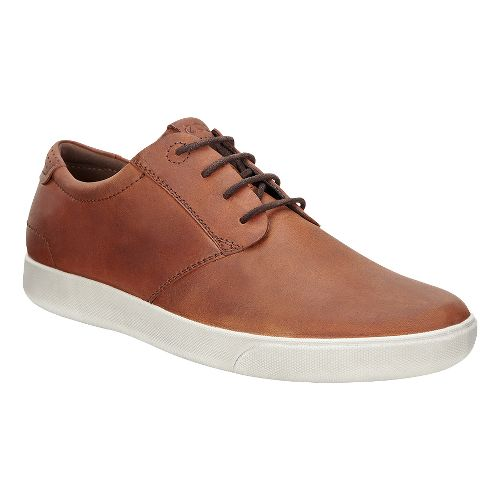 Mens Ecco Gary Lace Casual Shoe - Amber 40