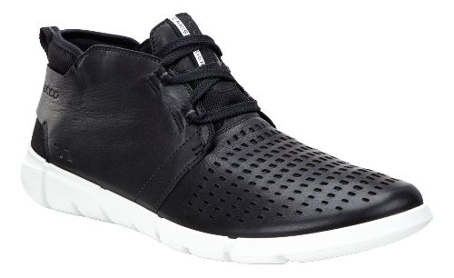 Mens Ecco Intrinsic Chukka Casual Shoe - Black 44