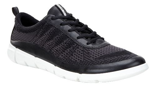 Mens Ecco Intrinsic Knit Casual Shoe - Black/Moonless 42