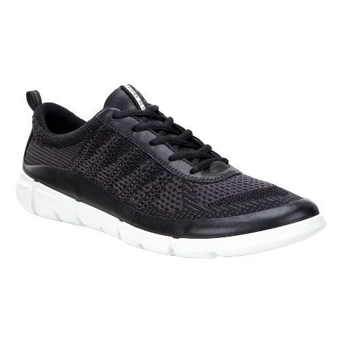 Mens Ecco Intrinsic Knit Casual Shoe - Black/Moonless 45