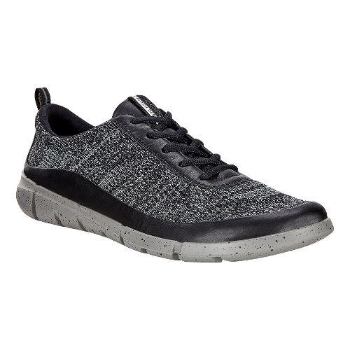 Mens Ecco Intrinsic Knit Casual Shoe - Black/Concrete 41