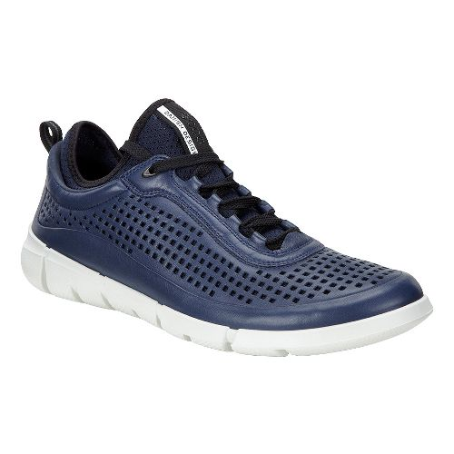 Mens Ecco Intrinsic Sneaker Casual Shoe - Navy 39
