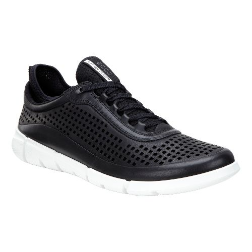 Mens Ecco Intrinsic Sneaker Casual Shoe - Black 42