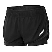 "Womens 2XU Pace 3"" 2-in-1 Shorts"