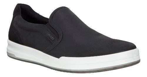 Mens Ecco Jack Slip-On Casual Shoe - Black 45