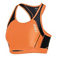 Womens 2XU Perform Tri Crop Sleeveless & Tank Technical Tops