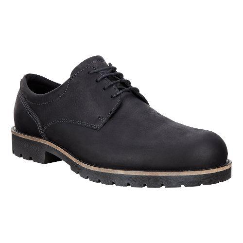 Mens Ecco Jamestown Tie Casual Shoe - Black 44