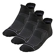 R-Gear Unstoppable 3 pack Thin Cushion No Show Tab Socks