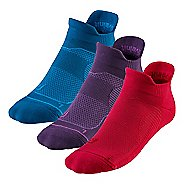R-Gear Unstoppable Thin Cushion No Show Tab 3 pack Socks - Teal Nights S