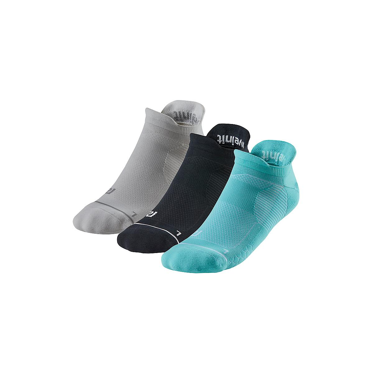 R-Gear�Unstoppable Sock 3 pack Thin Cushion No Show Tab