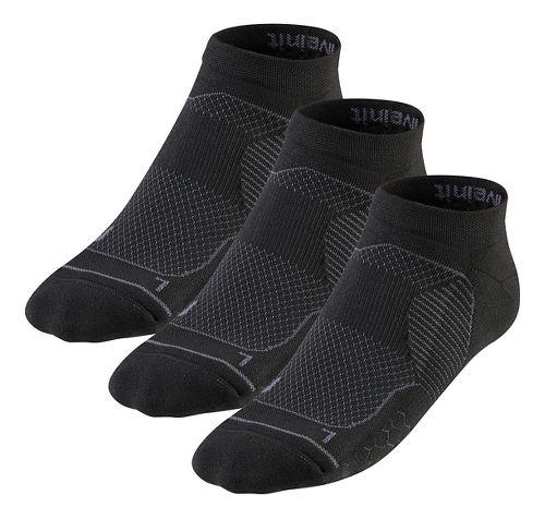 R-Gear Unstoppable Thin Cushion Low Cut 3 pack Socks - Black L