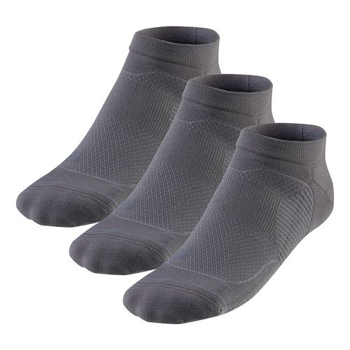 R-Gear Unstoppable Thin Cushion Low Cut 3 pack Socks - Steel M