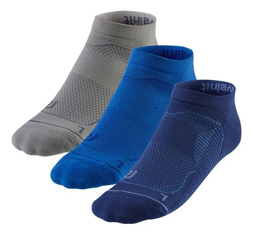 R-Gear Unstoppable Thin Cushion Low Cut 3 pack Socks - Cobalt L