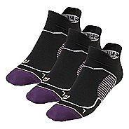 R-Gear Unstoppable Thin No Show Tab 3 pack Socks - Let's Jam L