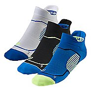 R-Gear Unstoppable 3 pack Thin No Show Tab Socks
