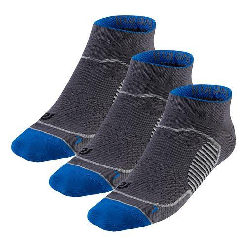 R-Gear Unstoppable Thin Low Cut 3 pack Socks - Steel L