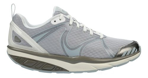 Womens MBT Afiya 5 Walking Shoe - Pearl/White/Silver 42