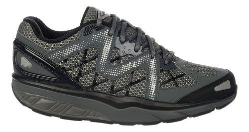 Womens MBT Afiya 6 Walking Shoe - Volcano Grey/Black 37