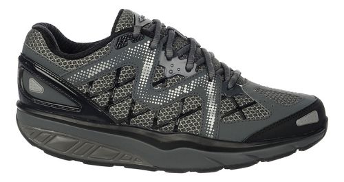 Womens MBT Afiya 6 Walking Shoe - Volcano Grey/Black 42