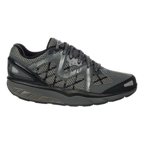 Womens MBT Afiya 6 Walking Shoe - Volcano Grey/Black 38