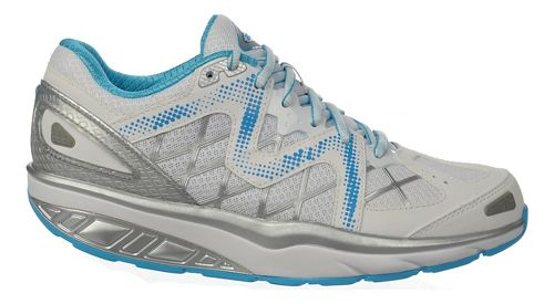 Womens MBT Afiya 6 Walking Shoe - White/Silver/Blue 37