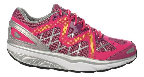 Womens MBT Afiya 6 Walking Shoe - Red/Violet/Maize 42
