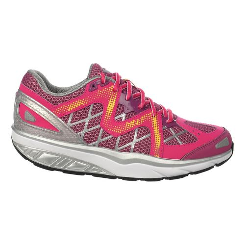 Womens MBT Afiya 6 Walking Shoe - Red/Violet/Maize 38