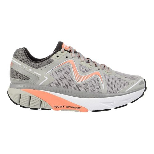 Womens MBT GT 16 Running Shoe - Yellow/Lime 6