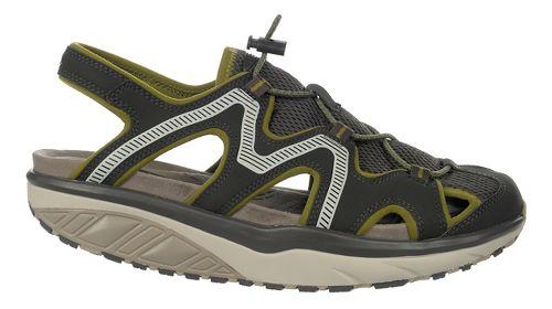 Mens MBT Jefar 6 Trail Sandals Shoe - Pavement/Olive/Grey 40