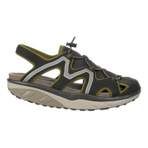 Mens MBT Jefar 6 Trail Sandals Shoe - Pavement/Olive/Grey 43