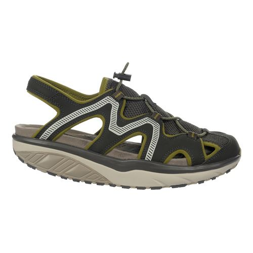 Mens MBT Jefar 6 Trail Sandals Shoe - Pavement/Olive/Grey 44