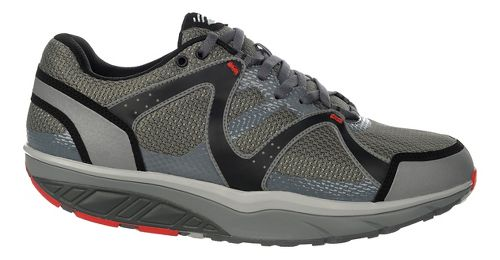 Mens MBT Sabra Trail 6 Lace Up Walking Shoe - Grey/Pigment/Black 43